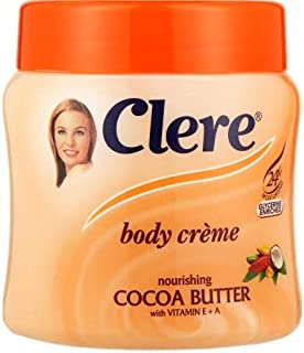 Clere Nourishing Cocoa Butter Body Cream 500ml