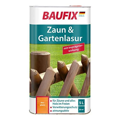 BAUFIX Zaun- und Gartenlasur, douglasie, 5L