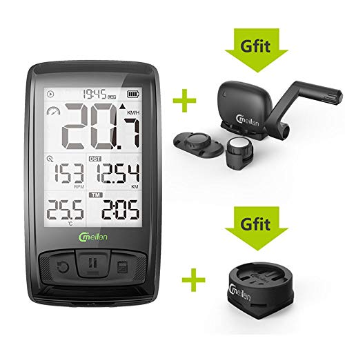 New Lee Lam Bike GPS Computer Mini GPS Bicycle Computer Waterproof Bike Computer ANT+ Cadence Speed ...