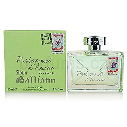 JOHN GALLIANO Parlez Moi D Amour Eau Fraiche 80 ml