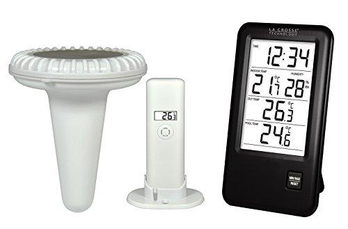 La Crosse Technology Wetterstation, mit Sonde, für Schwimmbecken