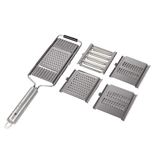 Fxhan Multi-Purpose Vegetable Slicer Peeler Kitchen Tool Stainless Steel Grater