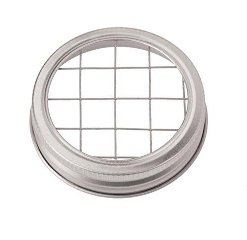 Glorex Drehverschluss Gitter, Aluminum, Silber, 12 x 8.6 x 1.5 cm