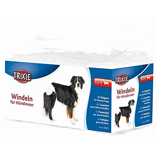 TRIXIE 12 Pañales Perros ultra absorbentes, XS-S, Perro