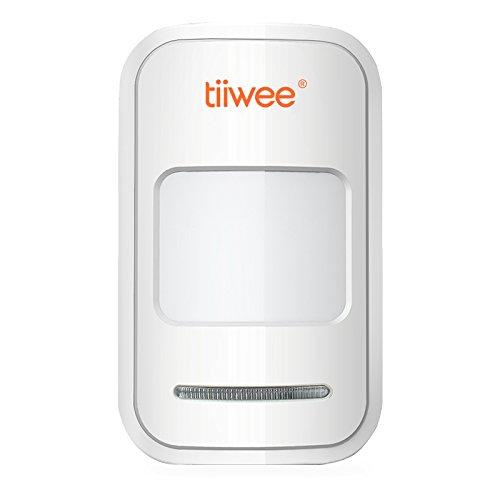 tiiwee Sensor de Movimiento PIR TWPIR02 para el Sistema de Alarma de Hogar - Sistema de Alarma de casa antibloqueo inalámbrico - Seguridad en el hogar