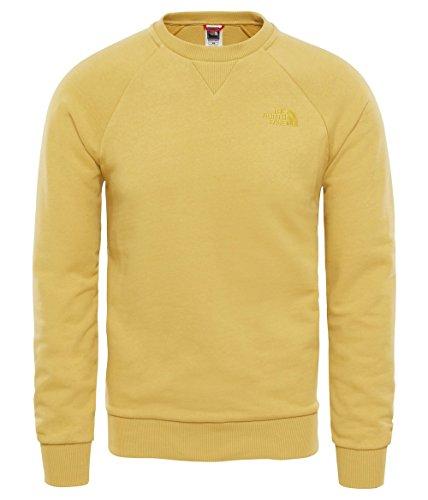 Sudadera amarilla The North Face para hombre