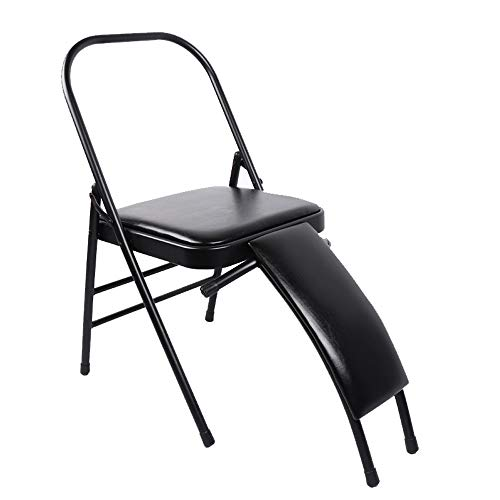 Review Of DaQingYuntur Chair Yoga,Sit, Stretch, Backless Yoga Chair Prop - Flexibility and Strengt...
