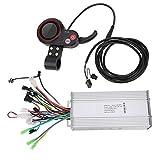 Cerlingwee Controlador de Cambio de Pulgar LCD 2 en 1 Controlador de Scooter eléctrico 120/60 Grados automático para niños Bicicletas eléctricas Scooters(1000W)