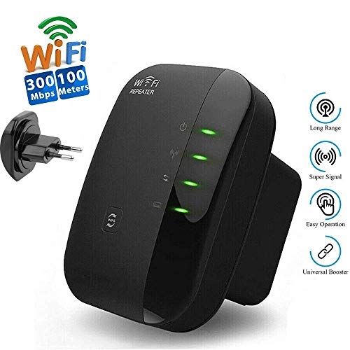WZYGYDEF WiFi Repeater 300 Mbit/S Wireless Router range Extender WPS