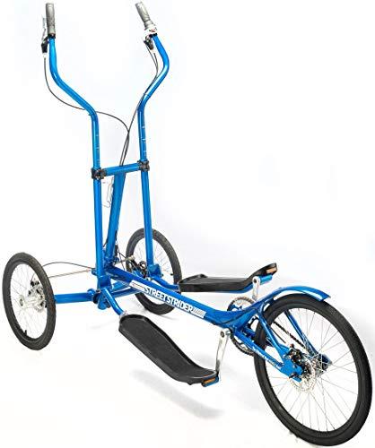 StreetStrider 3i Outdoor + Indoor Elliptical Cross Trainer, Blue