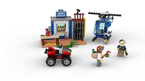 Ensemble de Construction LEGO Juniors La Poursuite Policière en Montagne (115 pièces) 10751 - 4