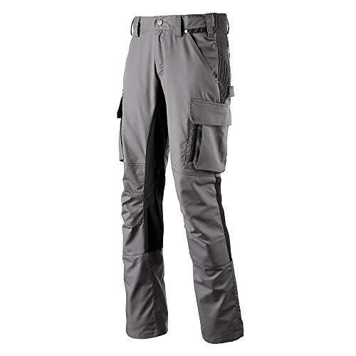 Haix Performance Pants Grey-Black Hoch Funktionelle Level 1 Arbeitshose mit praktischen Taschen.