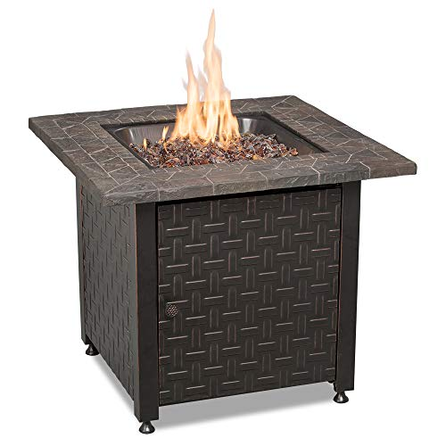 Endless Summer GAD15256SP LP Gas Outdoor, Oil Rubbed Bronze Fire Table, Multicolor