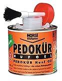 HORSE fitform Pharmaka 32547 - Olio per pedocture, 500 ml, Colore: Cioccolato