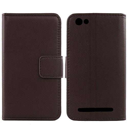 Gukas Design Echt Leder Tasche Für Archos 45d Platinum 4.5