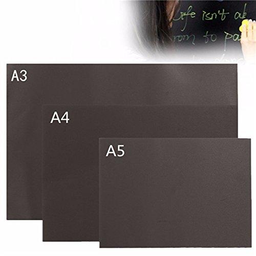 Tutoy A3 A4 A5 Chalkboard Blackboard Magnetic Peint À La Main Personnalisé Memo Wall Sticker -A4