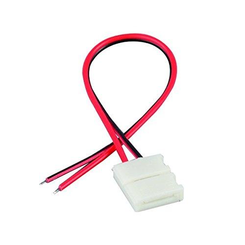Nobilé Accessoires Câble de raccordement pour LED flexible SMD 5050/5630, Lot de 5 No 5011510055