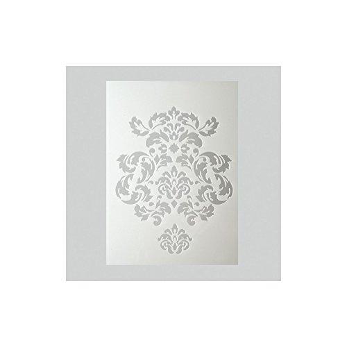 efco–Stencil Decorazioni/2Designs DIN, Plastica, Trasparente, a 5