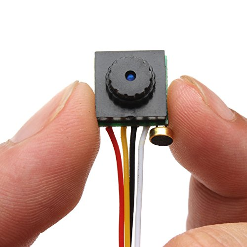 BliliDIY Mini Cmos Fpv 65 Gradi 600Tvl Telecamera 3.6Mm Ntsc Pal Per Rc Drone - Pal