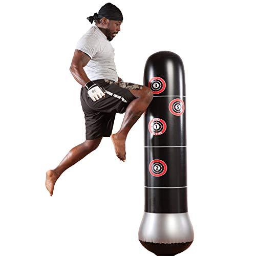 Saco de Boxeo de Boxeo Inflable de Fitness PVC Columna de Boxeo Engrosada Inflable Columna de Lucha Columna de Lucha Suministro Directo de fábrica