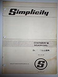 Best Simplicity Tillers