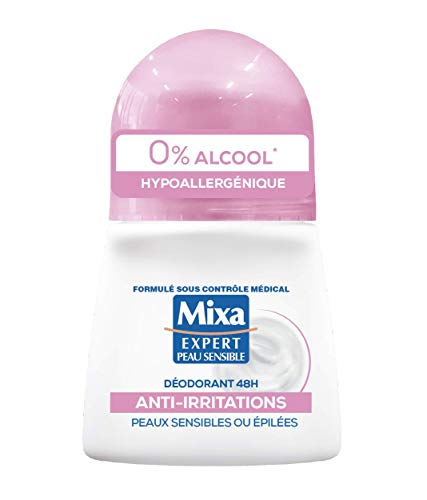 Mixa Déodorant Bille 48h Anti-Irritations 1 Unité - 50ml