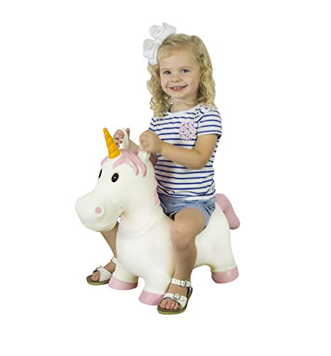 Big Country Farm Toys Unicorn - Kids Hopper Toys - Unicorn Hopper - Unicorn Toys