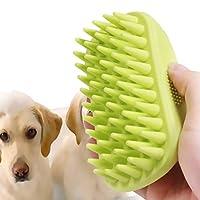 髪のクリーニング耐久性のあるソフトシリコンペットシャンプーブラシのためのブラシペットグルーミング入浴マッサージブラシ猫犬