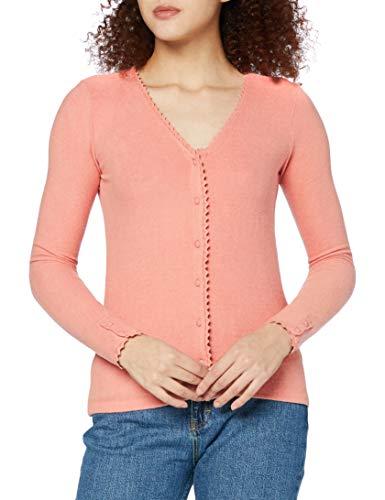 Naf Naf Orachel T1 Camiseta, Rose Poudre Chine C944, XL para Mujer