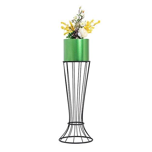 ZHANWEI Etagère à Fleurs Porte Pots pour Fleurs et Plantes Le Fer Art Au Sol Multicouche Salon Balcon Chambre Vent Nordique Intérieur extérieur, 3 Couleurs, 28x69cm / 31x89cm