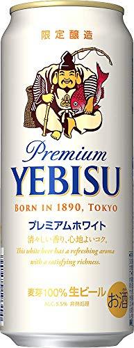 サッポロ ヱビス プレミアムホワイト [ 500ml×24本 ]【ビール/中元】