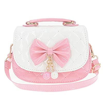 Little Girls Crossbody Purses with Bowknot