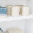 Tumbler Dock Set of 4 Ceramic Drinking Glass