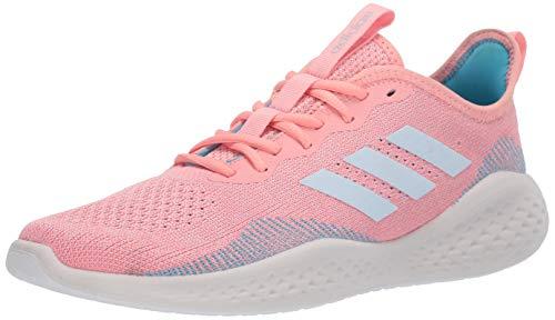 adidas Fluidflow Zapatillas de running para mujer, Rosa (Glory Pink/Sky Tint/Bright Cyan), 36.5 EU