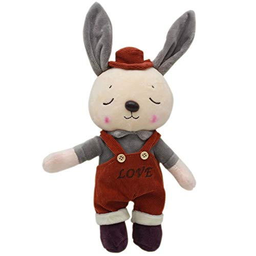 tianluo Juguete De Peluche 35cm Conejito Conejito Peluches Lovey Bunny Pareja Conejo Peluche Suave Peluches Juguetes Muñeca para Boda Niñas