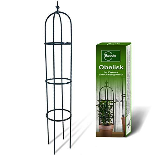 Kakveiai Pflanzenstütze, Rankhilfe Obelisk, Gartenpflanze Stützstangen, Rankobelisk Kunststoff Metall beschichtete, Rankgitter Zimmerpflanzen &...