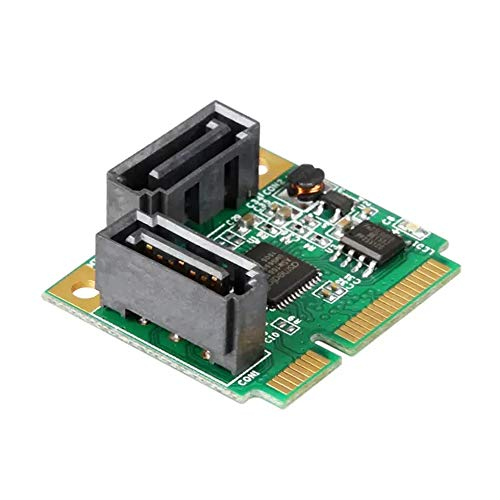 FFSM PCI Express Card PCI-E naar SATA3 Mini Expansion Card 6Gbps SSD Harde Schijf Interface Voor Windows XP Vista 7 8 Apparaten naar PC of moederbord voor Computersystemen en Servers