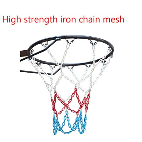 Sale!! XingLi Outdoor Indoor All-Weather Thickening Net, Iron Chain Basketball Net Professional Stan...