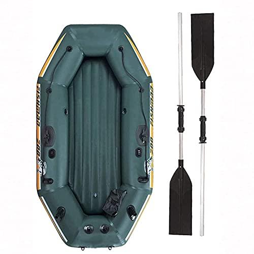 Barco de Pesca Inflable a la Deriva,Kayak Portátil De 2 Plazas, para Kayak para Adultos,Bote Inflable Impermeable, Se Puede Usar Al Aire Libre, Deportes Marinos, para Jugar Y Pescar