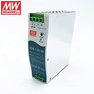 MEAN WELL SDR-120-48 120W 2.5A 48V slim single phase Industrial DIN Rail Power Supply with PFC