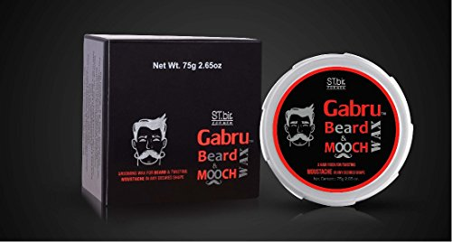 St. Bir Gabru Beard and Mooch Styling Wax (75 g)