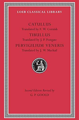 Catullus. Tibullus. Pervigilium Veneris: 6