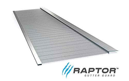 Raptor Gutter Guard | Stainless Steel Micro-Mesh, Contractor-Grade, DIY Gutter Cover. Fits Any Roof...