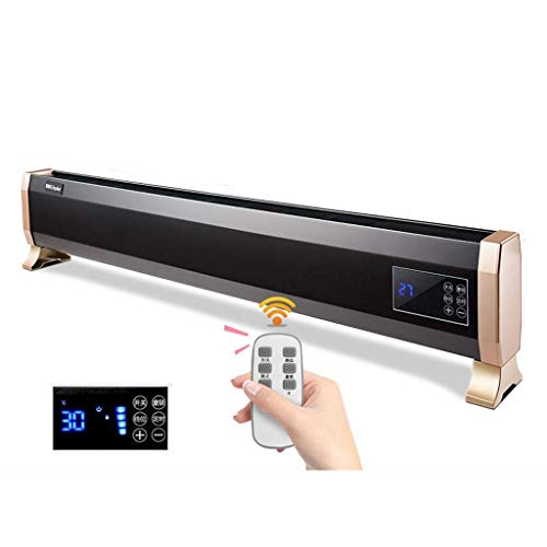 Yongenee Baseboard heater Electric Heaters Baseboard Heater, Whole House Heating Constant Temperature Saving Overheat Protection Cycle Heating for Bathroom/Office/Bedroom Convector heaters