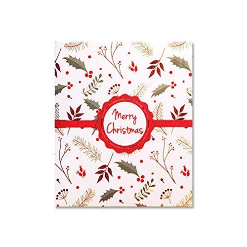 1pcs Tarjeta de felicitación emergente 3D Tarjeta de Navidad Divertidas Postales únicas de vacaciones Regalos para Feliz Navidad Tarjeta de venado para autos - Multicolor