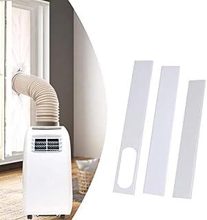 FDGBCF Adaptador de Ventana de 190 mm/Kit de Placa Deslizante de PVC para Ventana Conector de Tubo de Escape para Aire Acondicionado portátil doméstico