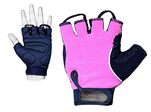 Islero Fitness Dames Gym Handschoenen Gewichtheffen Fietsen Rolstoel Bodybuilding Wrap