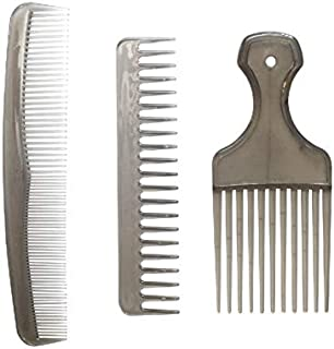 3pcs Hair Comb Brushing Dressing Beauty Salon Accessories Styling Comb Set