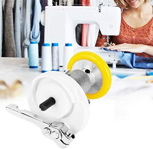 Enrollador de bobina eléctrico, Enrollador de bobina de hilo industrial automático para coser tejer tejer herramienta circular giratoria de alambre, Ensamblaje de máquina de coser de hilo de bordar