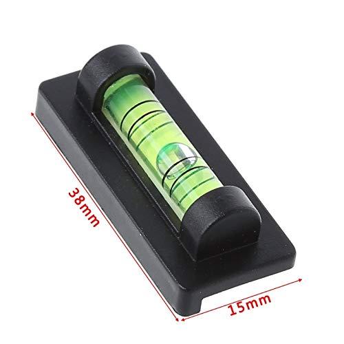 LYU-SCOPES Mini Esprit de rapporteur de Niveau de Bulle magnétique pour l'étagère de Marchandises de Cadre de Photo de Support de TV